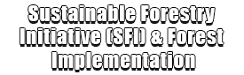 Sustainable Forestry Initiative (SFI) & Forest Implementation Logo